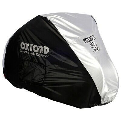 Oxford Aquatex Outdoor Double Bike Cover - Two Bike Bicycle Cover