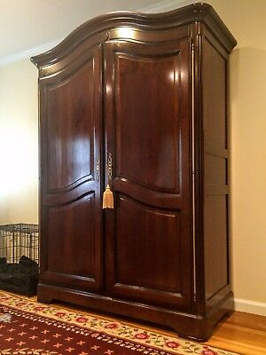 Grange France Bonnet Top Armoire Cabinet 8 Drawer