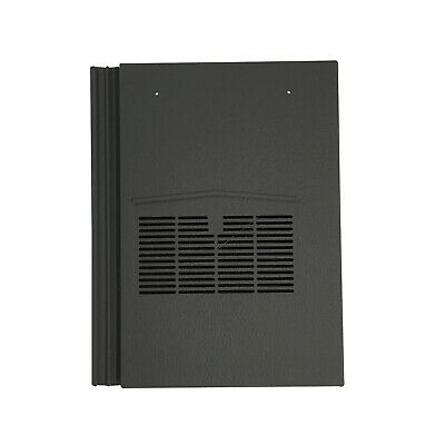 Roof Tile Vent To Fit Marley Modern, Redland Mini Stonewold | Grey Granular