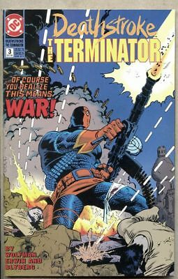 Deathstroke The Terminator #3-1991 vf 8.0 Ravager [Bill Walsh] Wolfman Mike Zeck