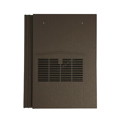 Roof Tile Vent To Fit Marley Modern, Redland Mini Stonewold | Brown Granular
