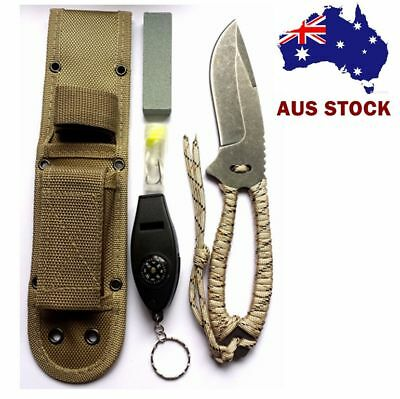 13 in 1 Multi function Camping Outdoor Survival fishing tactical train knife AUS