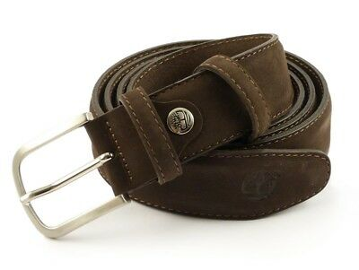 132dd69751e2 Ceinture homme femme en cuir TIMBERLAND M3595 Brown 544 Unisex Made in Italy