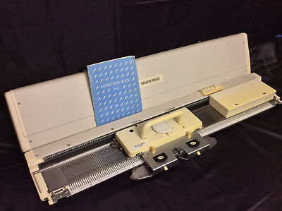 Silver Reed Electronic Knitting Machine Package SK 860 + SR 860 + PE1 + EC1