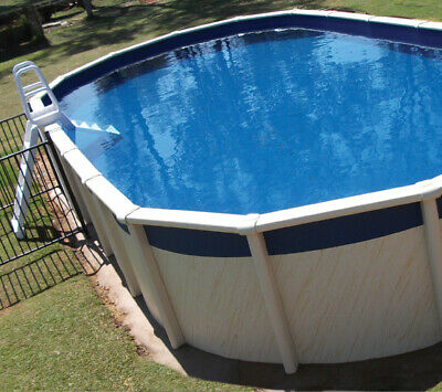 Oval Pool Liner 6.1m x 3.6m x 1.37m - Australian Made, Above Ground Pool Liner
