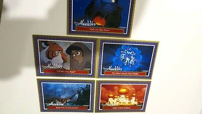 Aladdin Cards - The Walt Disney's Company - 1990's