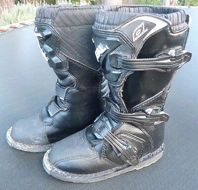 Oneal Youth Rider Motocross Boots - Size 1 - Excellent Condition!