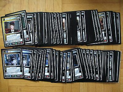 Star Trek - TROUBLE WITH TRIBBLES - C / UC Set - All 84 cards - ccg ST TNG TWT