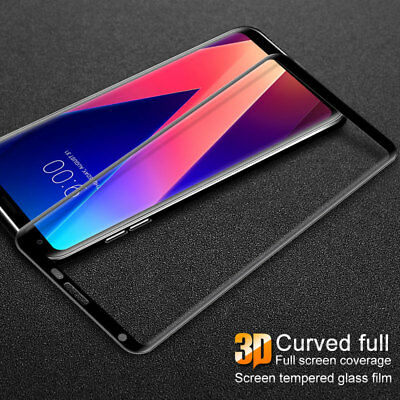 imak For LG V30. 3D Curved HD Full Coverage 9H Tempered Glass Screen Protector