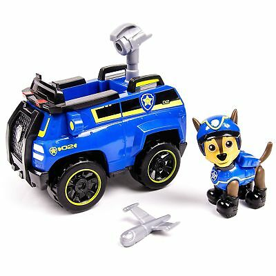 Paw Patrol Chase Spy Cruiser Nickelodeon Vehicle Figure Collectible Blue Toy Car