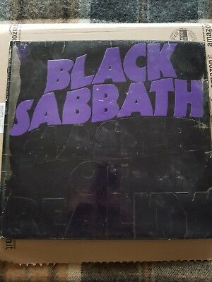 Black Sabbath Master of Reality Vertigo Swirl Label. UK Pressing.