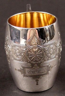 Antique Meriden B. Company Silverplate Children's or Punch ? Cup -Free Shipping!