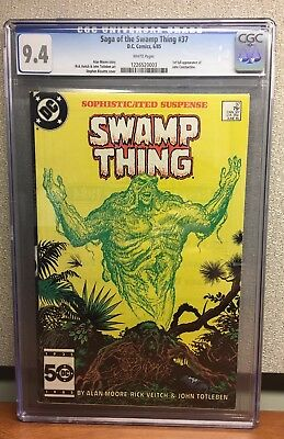 Swamp Thing (1982 2nd Series) #37 CGC 9.4 Constantine