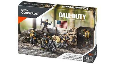 Classic Infantry Pack Mega Bloks Call of Duty (CNC67) Mattel