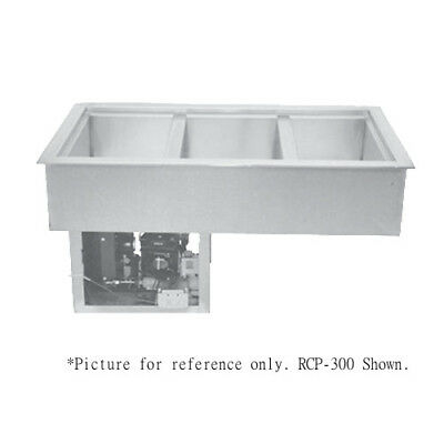 """Wells RCP-200 Drop-In Refrigerated Cold Food Well - (2) 12"""" x 20"""" Pan Capacity"""