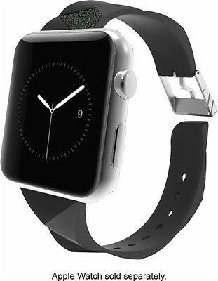 Case-Mate - Facets Smartwatch Band for Apple Watch™ 38mm – Black CM032783
