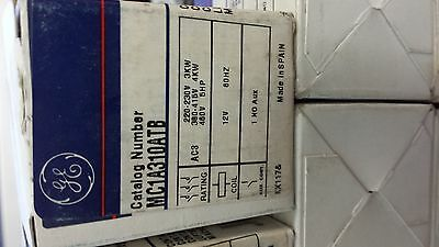 MC1A310ATB   GE  4HP 480V Contactor  Minature  NEW  3P / 1 NO Aux.