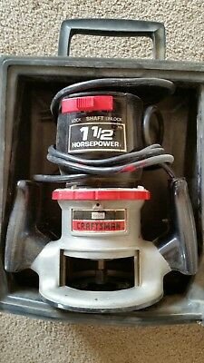 Craftsman 1 1/2 Hp Router