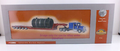 Corgi Heavy Haulers Kenworth W925 with Low Loader and Boiler Load New in Box