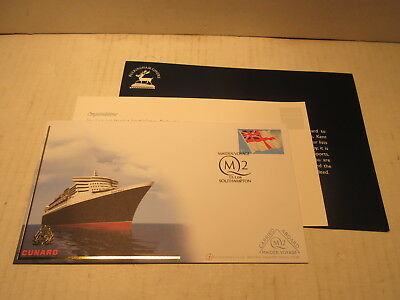 2004 Maiden Voyage Buckingham Cover No.6 Series 2 Queen Mary 2 Cunard
