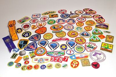 Lot of Vintage Misc Boy Scout Patches