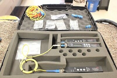ODM DLS 355 Dual Laser Source 1310/1550 Laser and ODM RP 460 Optical Power Meter