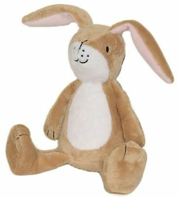 Rainbow Designs GUESS HOW MUCH I LOVE YOU LITTLE NUTBROWN HARE RATTLE Toy BN