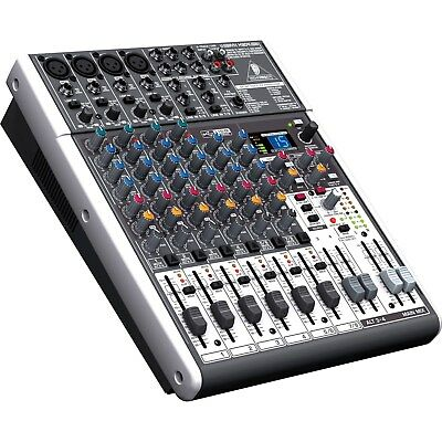 Behringer XENYX X1204USB - 12-Input USB Audio Mixer with Effects Brand New!