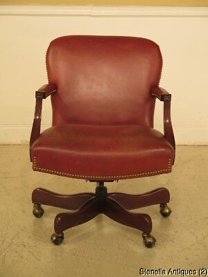 F29462: HANCOCK & MOORE Leather Office Desk Chair