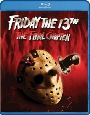 Blu Ray FRIDAY THE 13TH THE FINAL CHAPTER. (Part 4) Region free. New sealed.