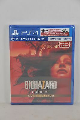 NEW PS4 Biohazard 7: Resident Evil Gold Edition (HK English/ Chinese Version)