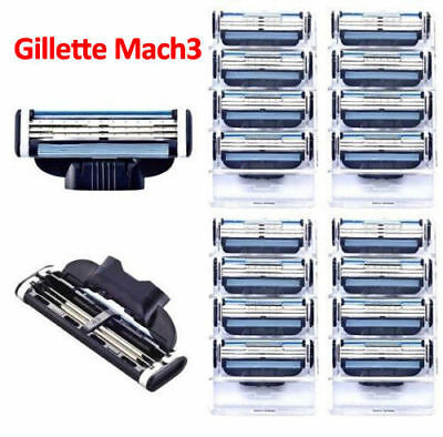 Gillette Mach3 Replacement Razor Blades 2QTY / 4QTY / 8QTY & full Pack UK Seller
