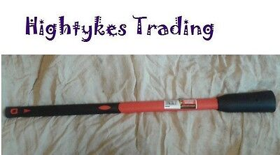 36in Heavy Duty Fibreglass Handle shaft for pick axe grubbing mattock