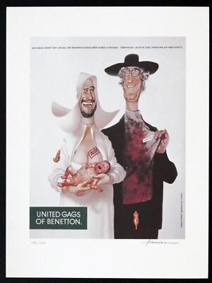 Gerhard HADERER, United Gags of Benetton - Kunstdruck
