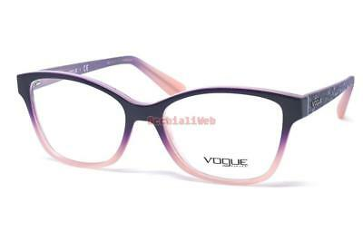 09079effd56 NEW VOGUE VO2998 2347 TOP VIOLET GRAD OPAL POWDER EYEGLASSES FRAME ...
