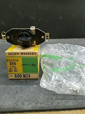 Allen bradley 800 N24 3 posistion selector switch