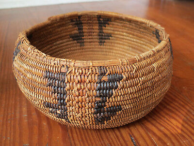 Old California Mission Indian Basket - Native American - Antique
