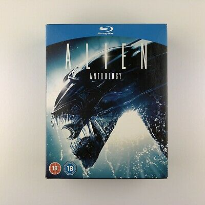 Alien Quadrilogy (Blu-ray, 2012, 4-Disc Set, Box Set)