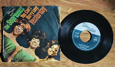 Single Vinyl The Supremes You Cant Hurry Love  Yesterday  Motown