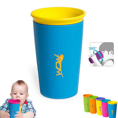 Baby Kids Safe Drinking Training Cup Leak Proof Learn Magic Learn To Drink Cup