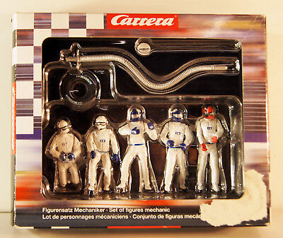 Carrera Pit Crew  White Figuren Mechaniker weiß 21111 in OVP