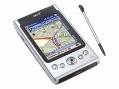 Acer N35 Pocket PC with Integrated GPS
