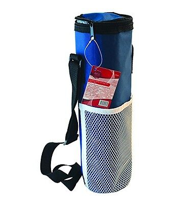 Redwood Insulated Bottle Cool Bag With Strap & Zipper Keeps Drinks Cool or Hot