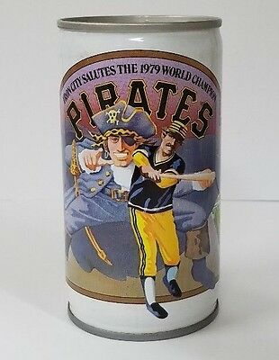 Iron City 1979 Pittsburgh Pirates  12 oz.  Commemorative  Beer Can