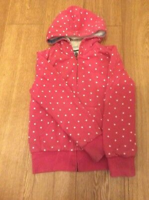 "Girls MINI BODEN Hoodie -""Shaggy Lined Star"" Age 11-12 Vgc"