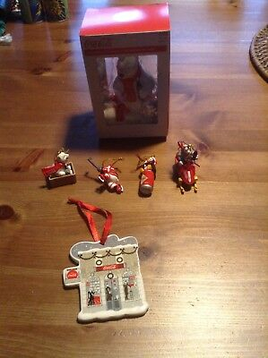 Coca Cola Ornaments Lot