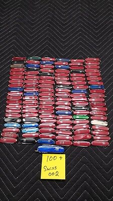 Lot of over 100 Swiss Army Knives Victorinox/Wenger