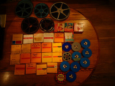 Vintage 8Mm Super 8Mm Home Movie Lot From 2 Estates Travel Air Show