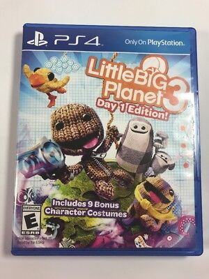 Little Big Planet 3 - Day 1 Edition for PS4 Game