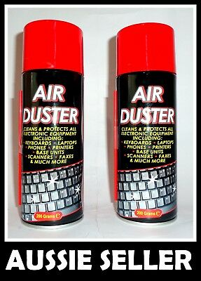 3 X COMPRESSED AIR DUSTER CLEANER CAN Laptop PC Keyboard Camera Lens